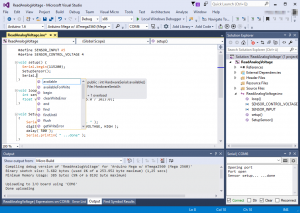 Visual Studio and Visual Micro